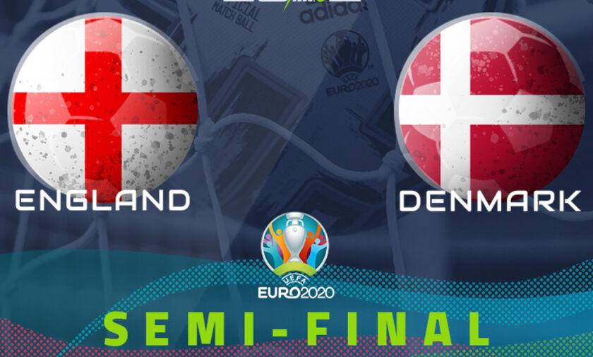 Euro 2020 England Denmark