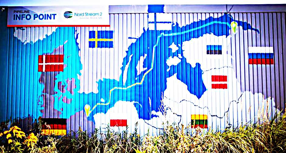 Nord Stream 2 info Point