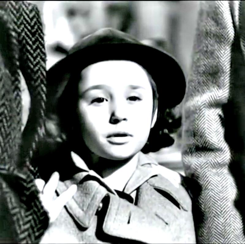 Raffaella Carrà ad 8 anni in Tormento del passato di Mario Bonnard 1952