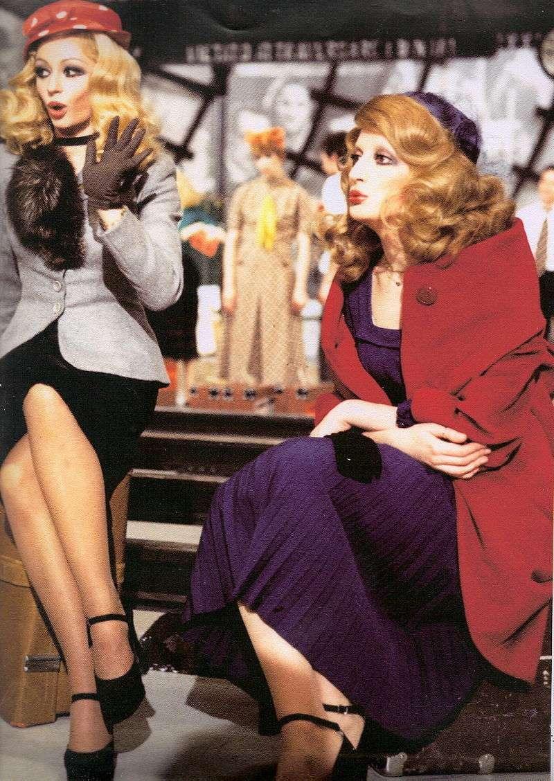 Raffaella Carrà e Mina a Milleluci 1974