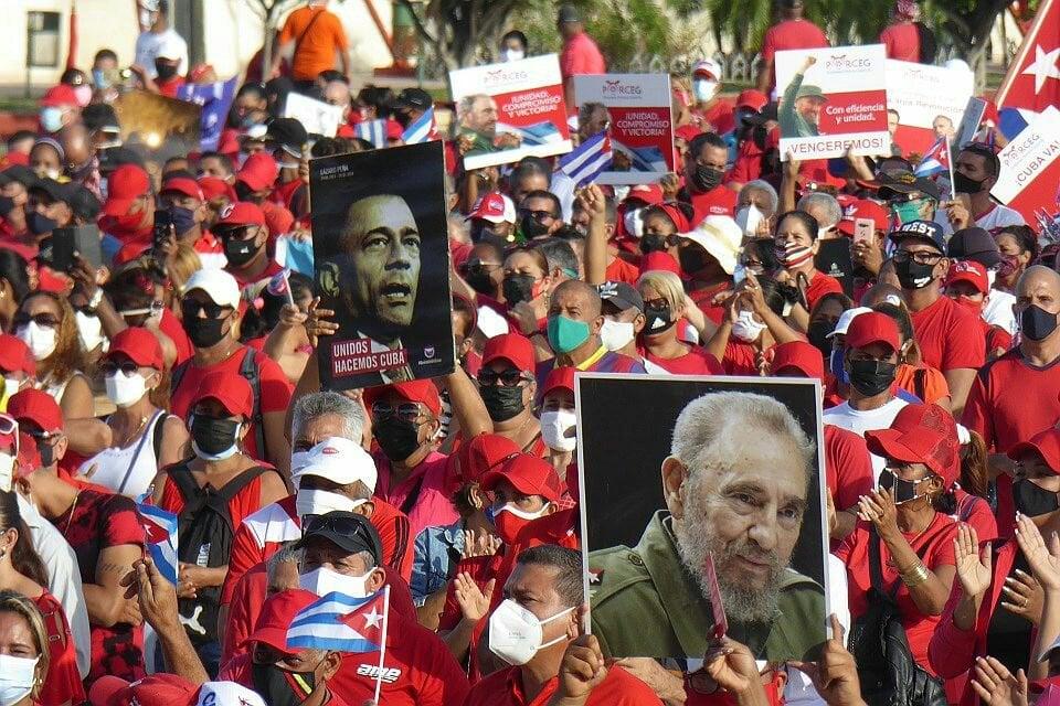 Todo el pueblo se levanta por la soberanía la defensa y la seguridad de Cuba 1