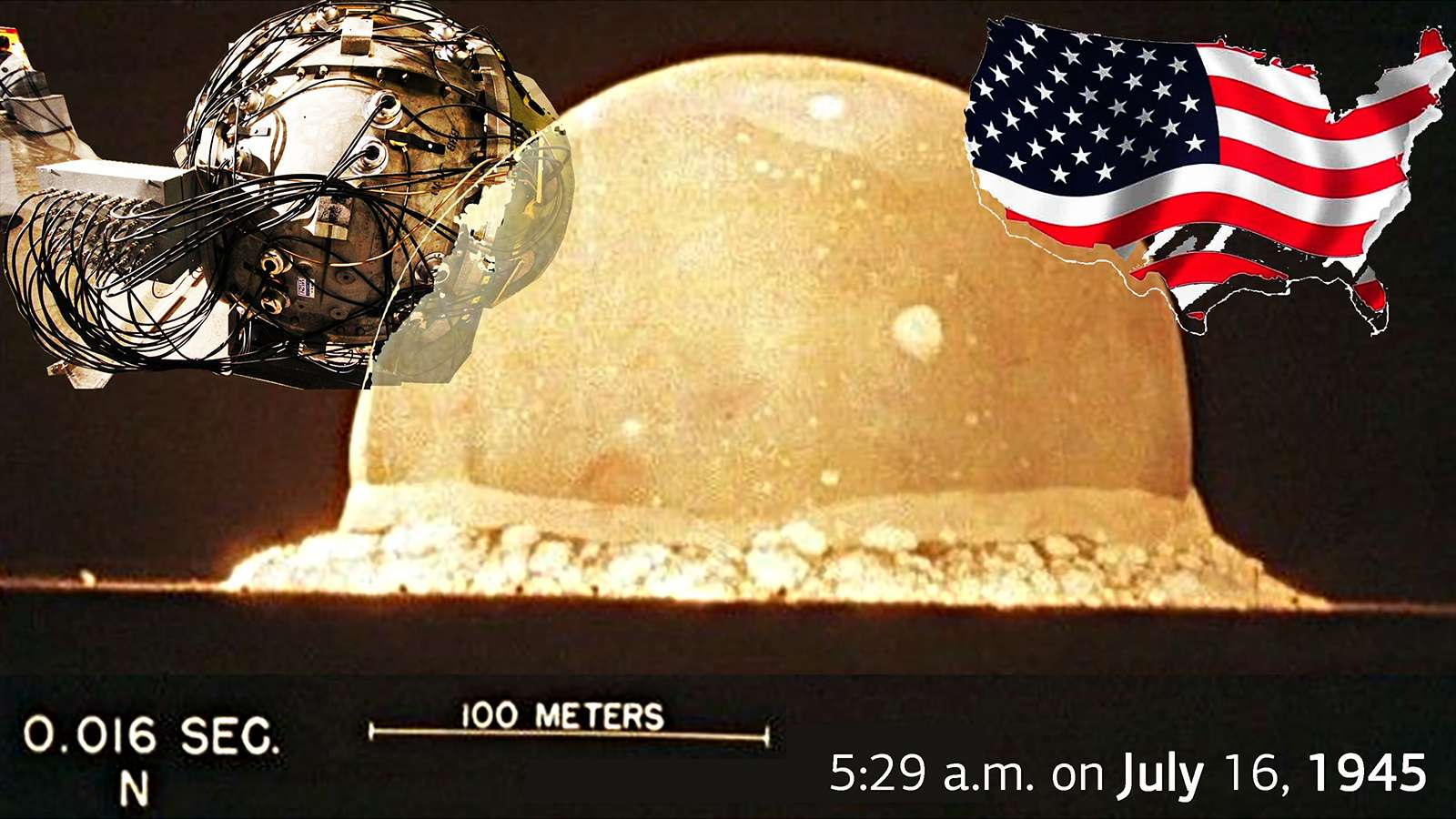 Trinity nuclear test