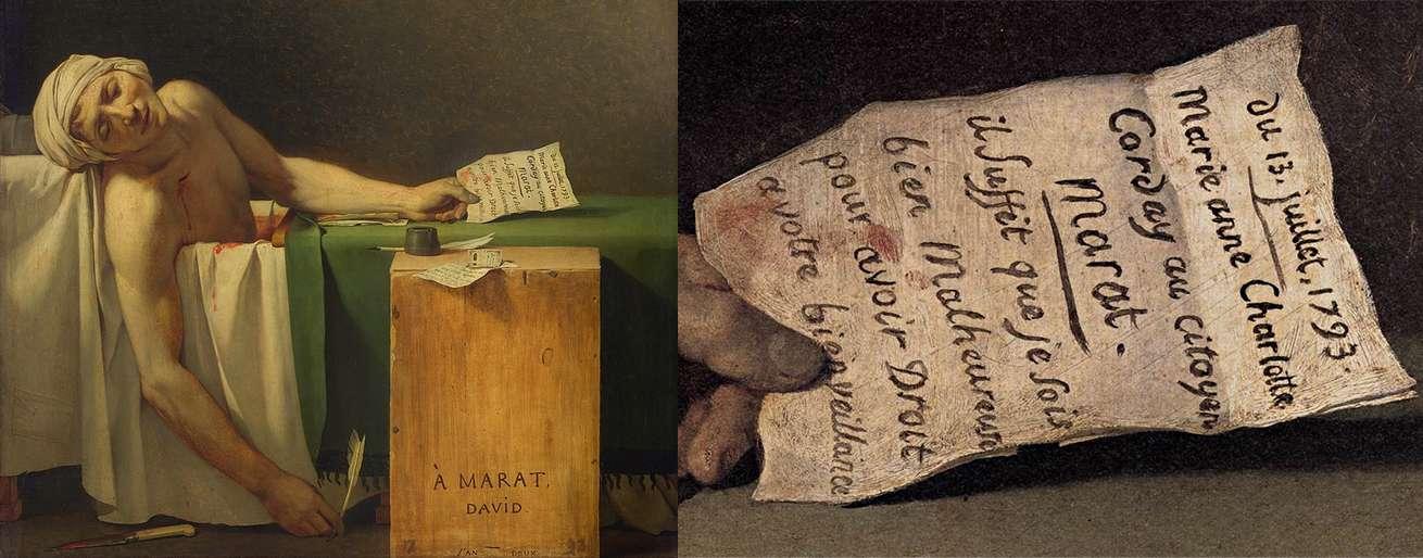 Θάνατος του Μαρά La Mort de Marat