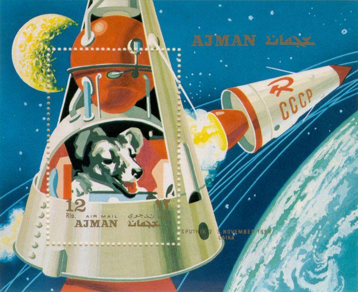 Λάικα vintage space space race