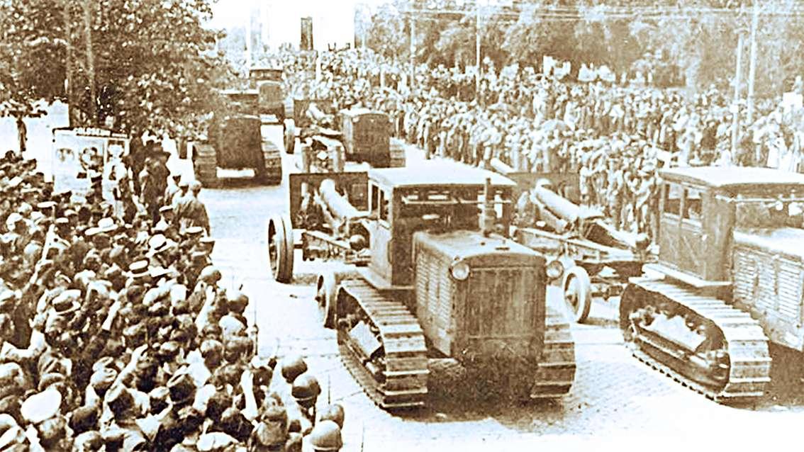 Κόκκινος Στρατός απελευθερώνει το Βουκουρέστι.
