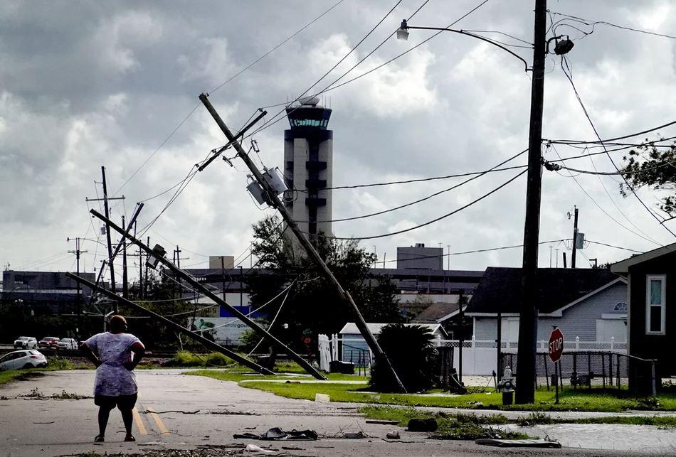 Hurricane Ida Τυφώνας Αΐντα