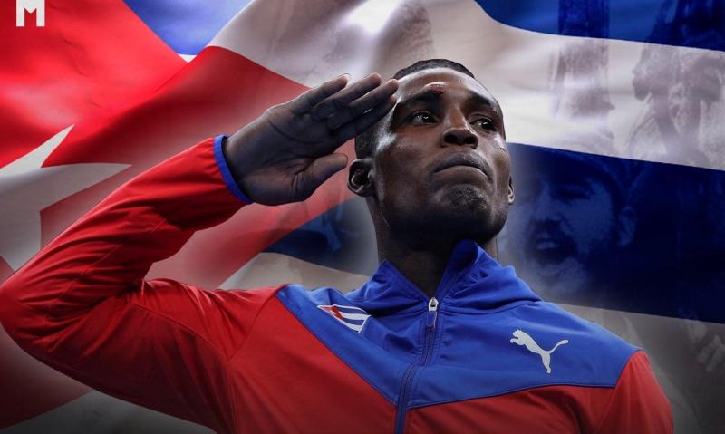 «Πατρίδα ή θάνατος! Θα νικήσουμε!»: Ο Κουβανός ολυμπιονίκης Χούλιο Σέσαρ λα Κρους στέλνει μήνυμα απ' το Τόκιο