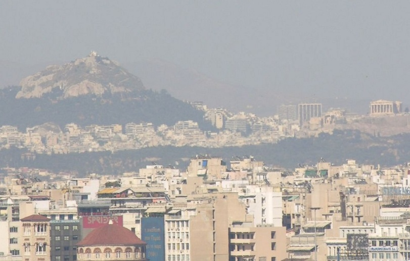 athens pollution