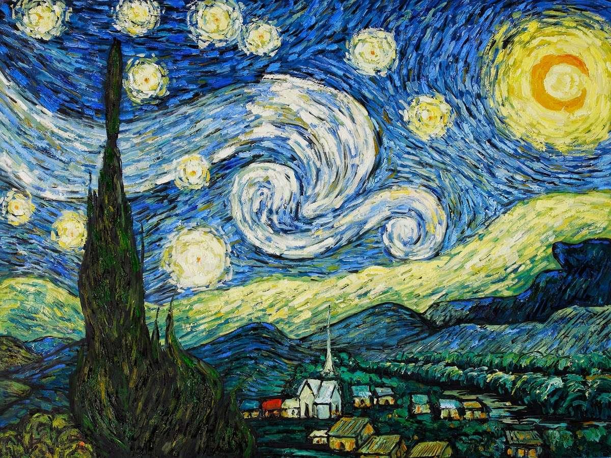 Έναστρη νύχτα του Βαν Γκογκ