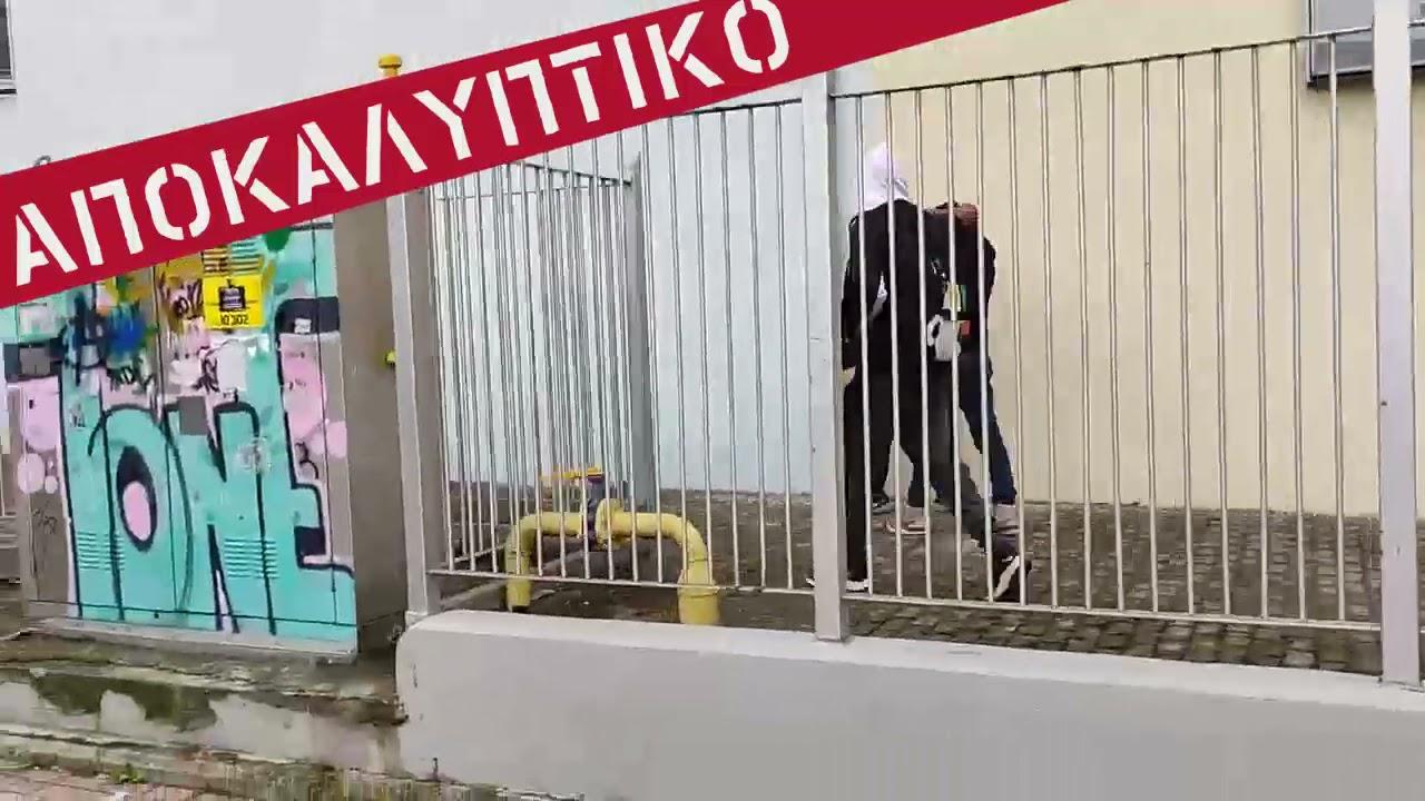 την καθοδήγηση της διεύθυνσης του ΕΠΑΛ Σταυρούπολης αλώνιζαν οι φασιστικές ομάδες
