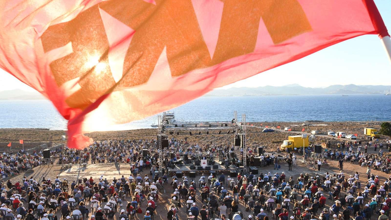 ΚΕ ΚΚΕ εκδήλωση ΚΚΕ στη Μακρόνησο
