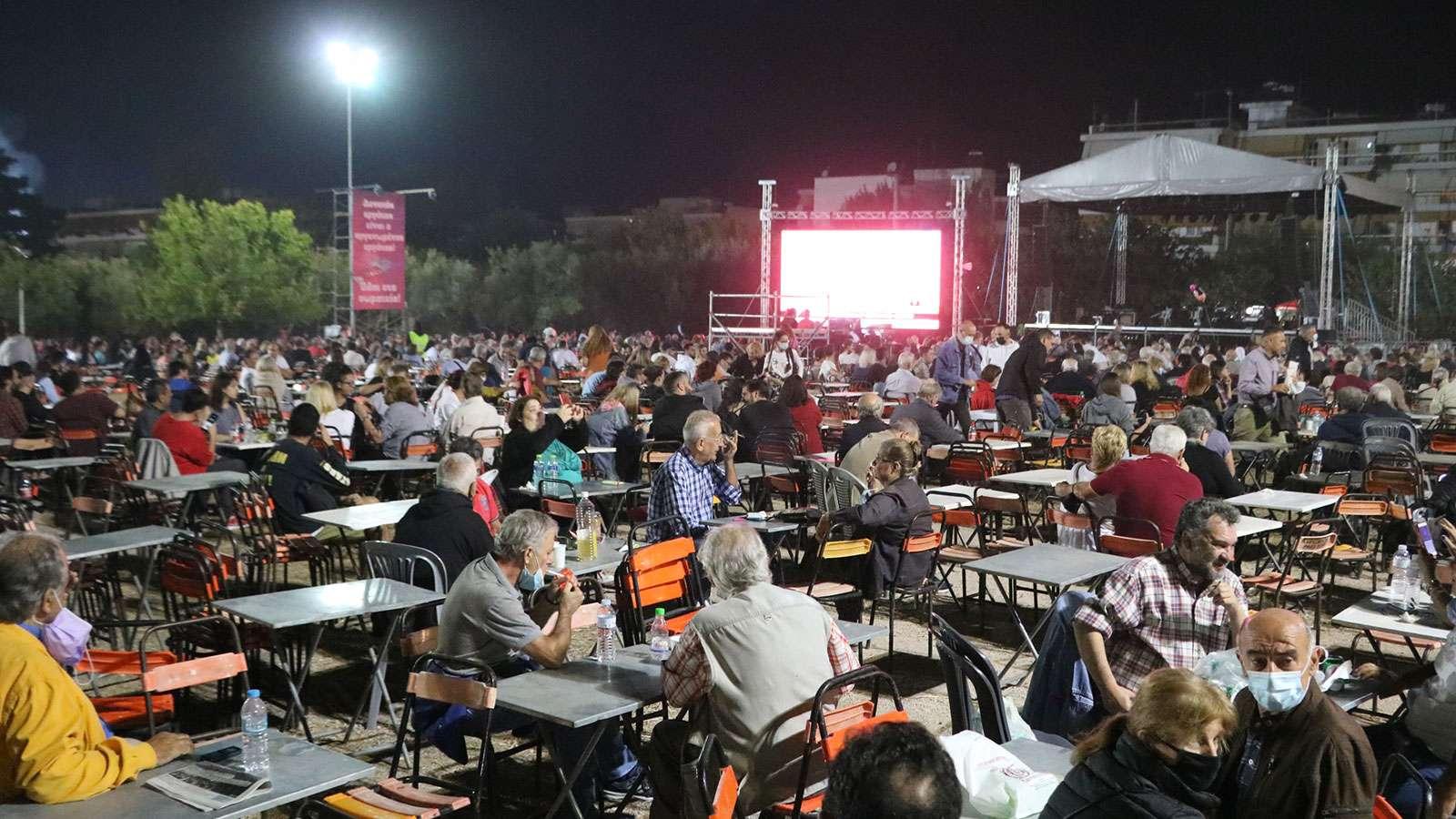 47ο φεστιβάλ ΚΝΕ Οδηγητή 3η μέρα Μελωδικό ταξίδι σε τραγούδια του Δημήτρη Χριστοδούλου