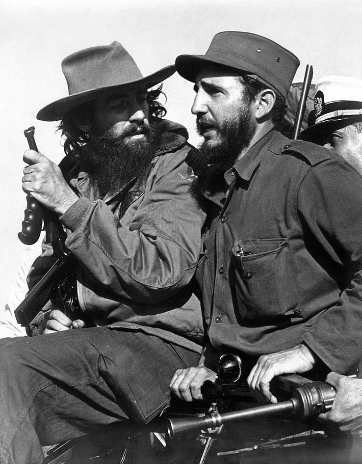 Cienfuegos Fidel Castro January 1959 Havana Luis Korda