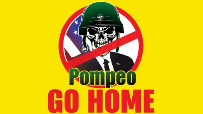 Pompeo Go Home