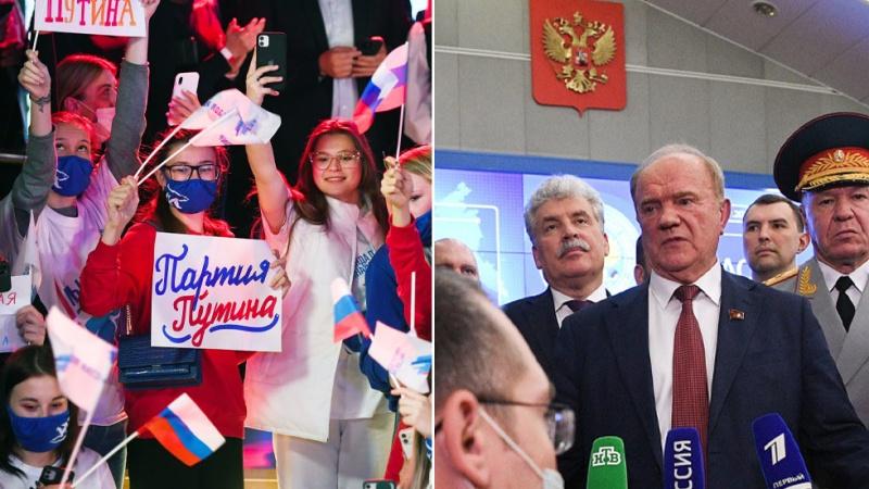 Ρωσία: Άνοδος των ποσοστών του Κομμουνιστικού Κόμματος στις βουλευτικές εκλογές