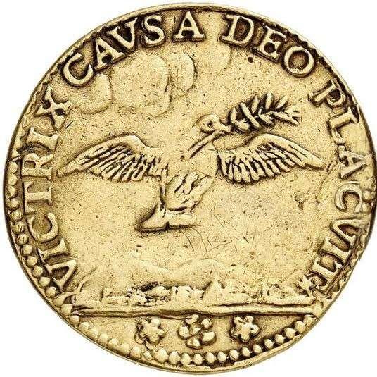 Trattato di pace di Carlowitz 4 zecchini 1699