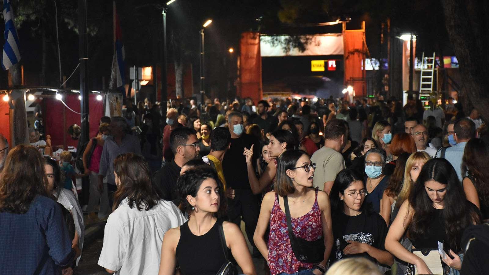 47ο Φεστιβάλ ΚΝΕ ΟΔΗΓΗΤΗ Θεσσαλονίκη kentrikos diadromos