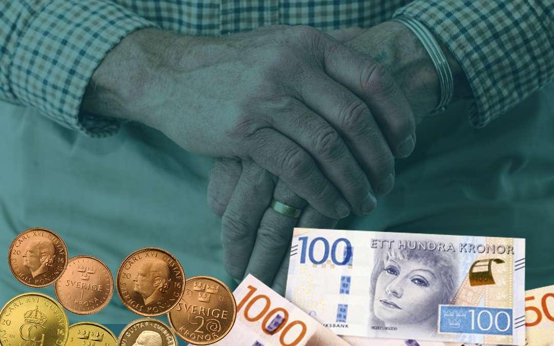 pensionarer pengar aldre