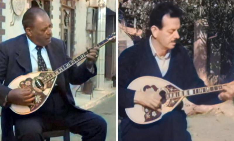 Σπάνιο βίντεο-θησαυρός με τον Μάρκο Βαμβακάρη και τον Βασίλη Τσιτσάνη να τραγουδούν (VIDEO)
