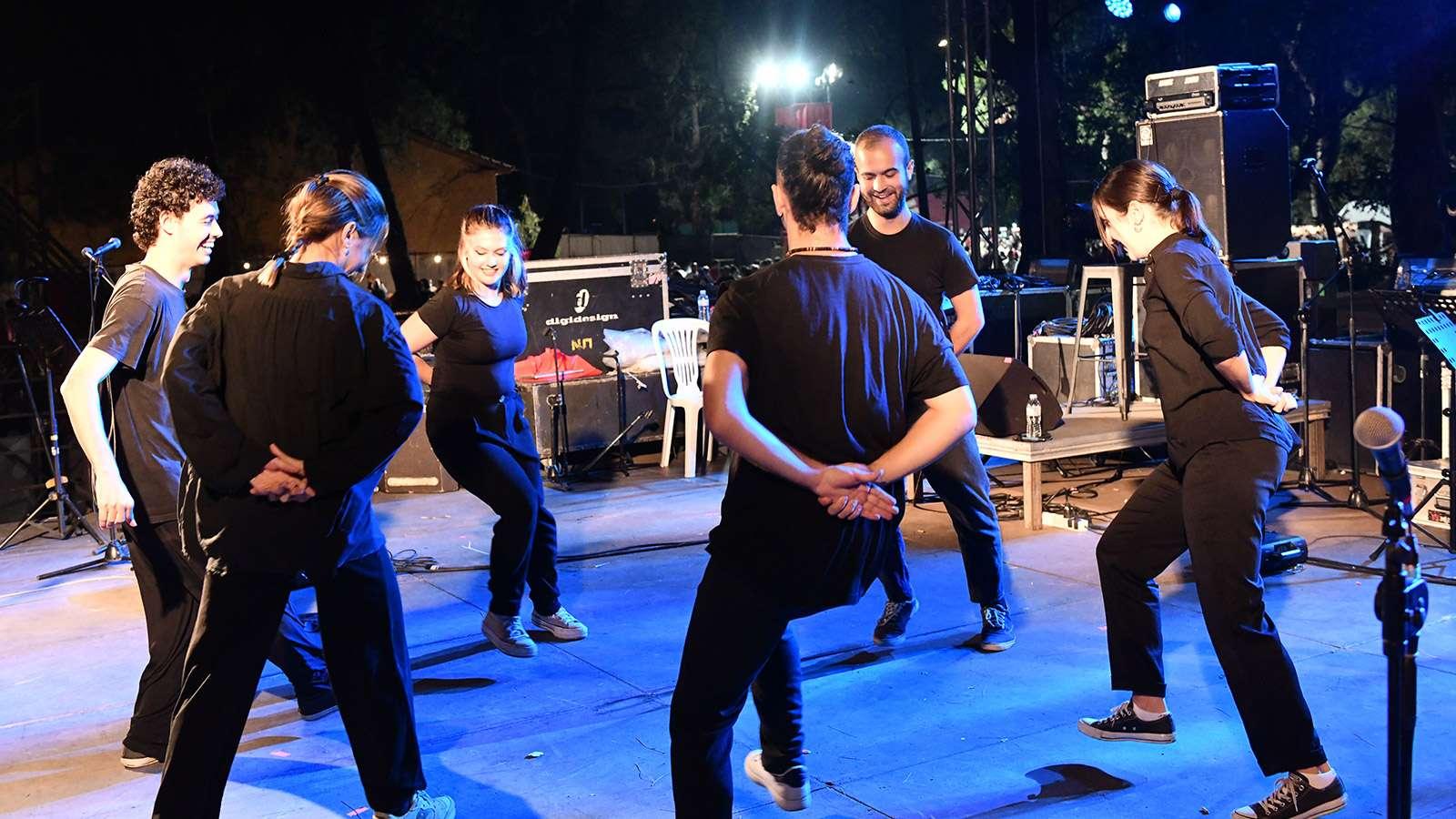 47ο Φεστιβάλ ΚΝΕ ΟΔΗΓΗΤΗ Θεσσαλονίκη xoreytiko gia theodoraki