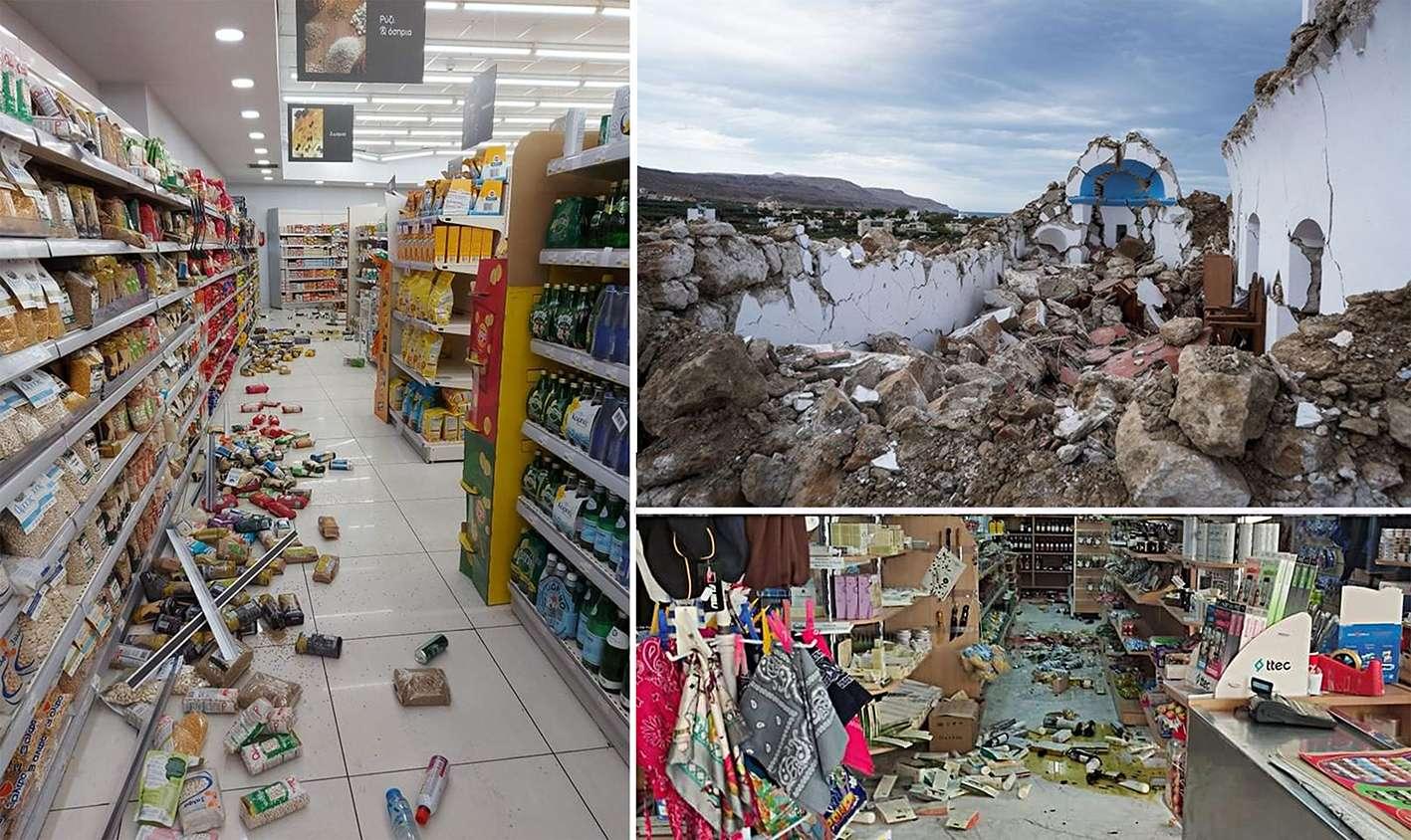 Κρήτη σεισμός 63 Ρίχτερ