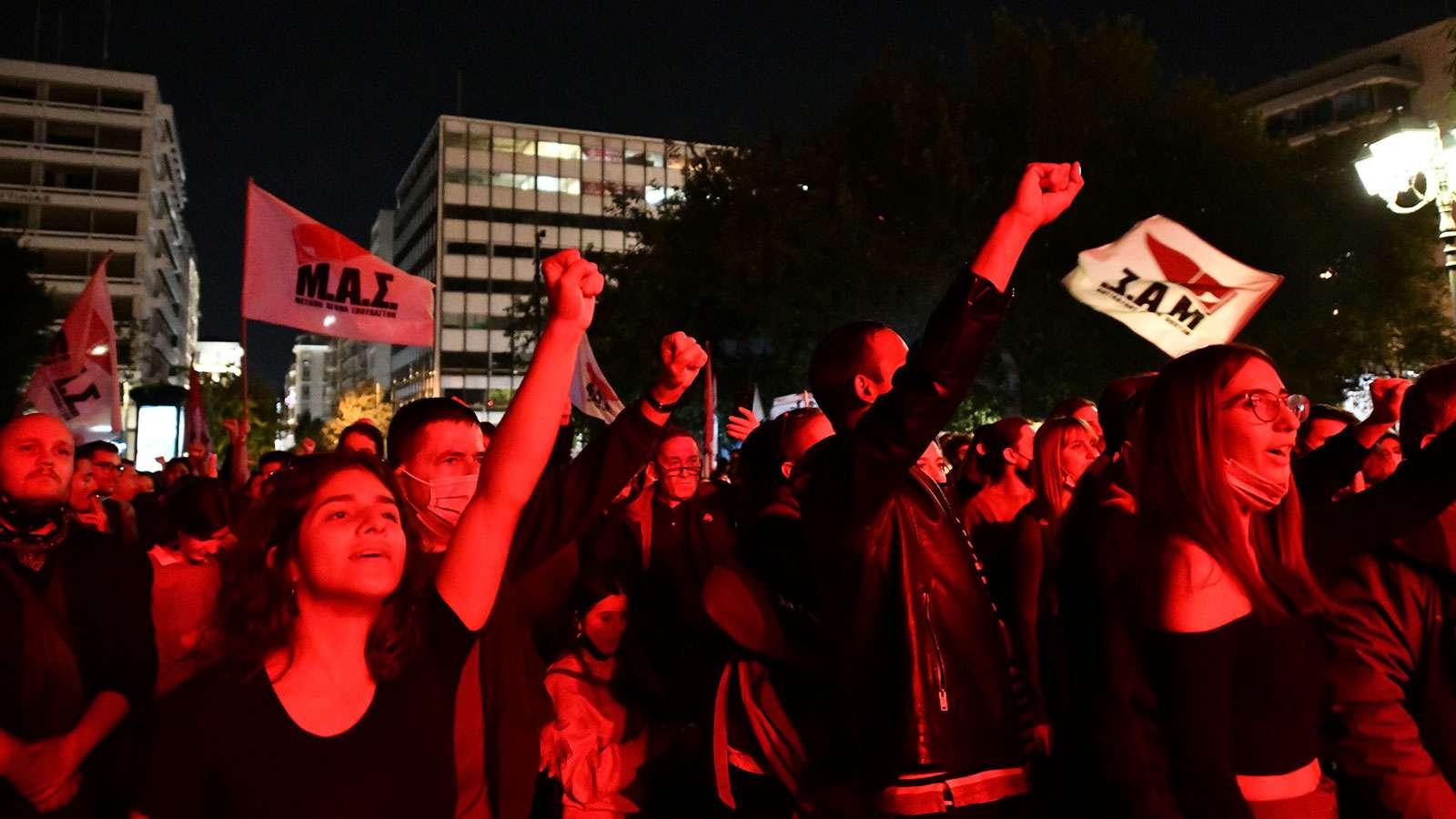Μεγάλη Αντιφασιστική Συναυλία στο Σύνταγμα «Δεν ξεχνάμε! Το φασισμό και το σύστημα που τον γεννά πολεμάμε!»