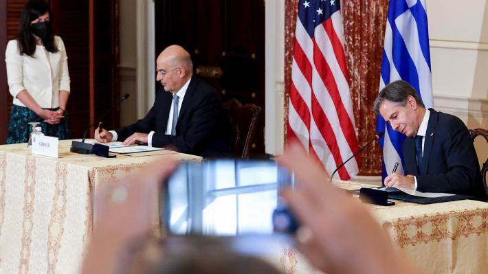 Υπογραφή νέα συμφωνία για τις βάσεις των ΗΠΑ ellhnoamerikanikh symfwnia ypografh