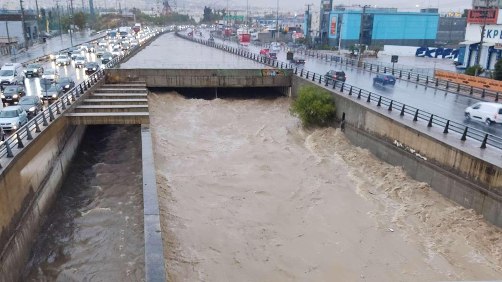 Πλημμύρες Ρέντη