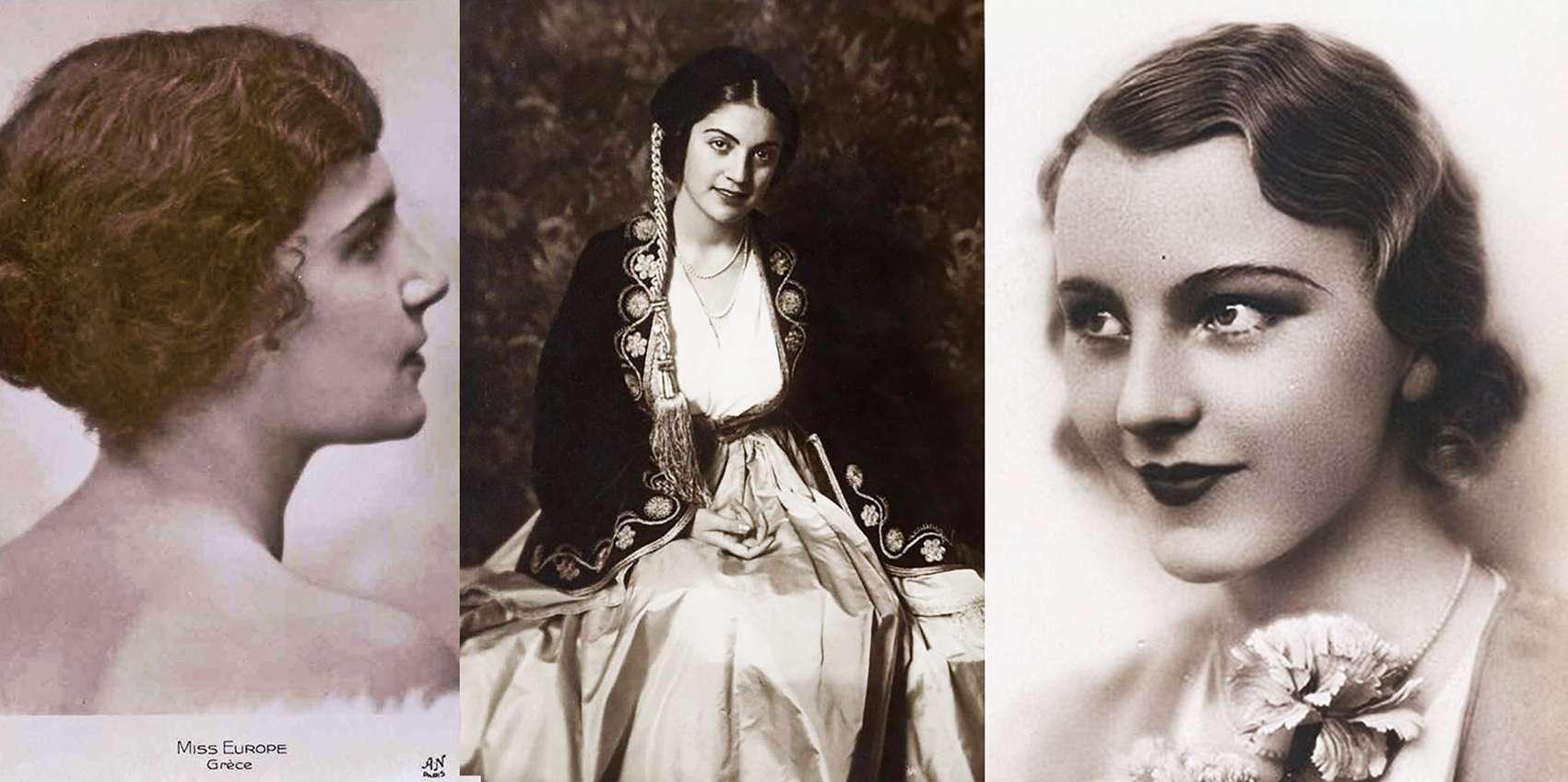 Aliki Diplarakou Lady Russell Miss Europe