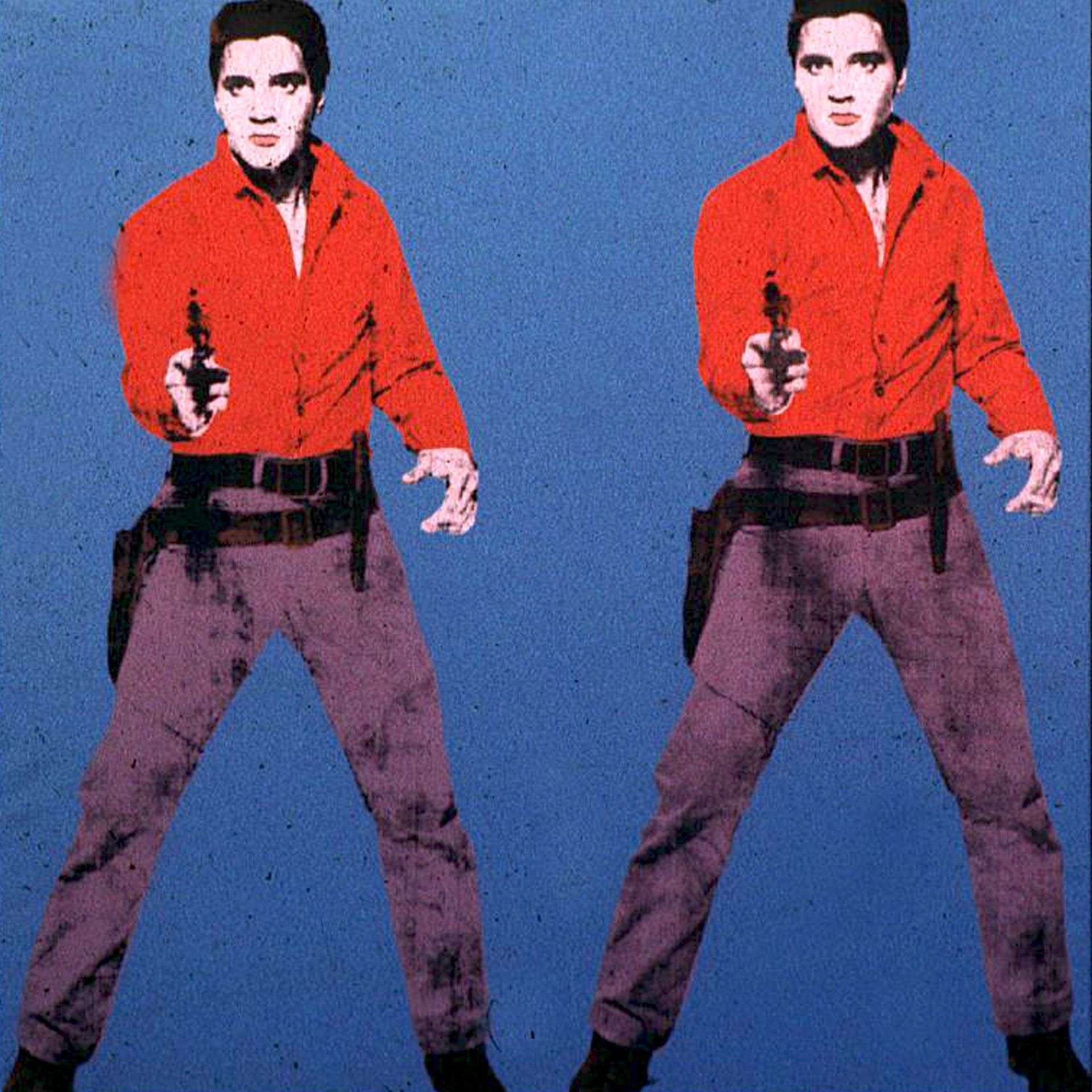Cool and Cold Ludwig Elvis Presley Andy Warhol color