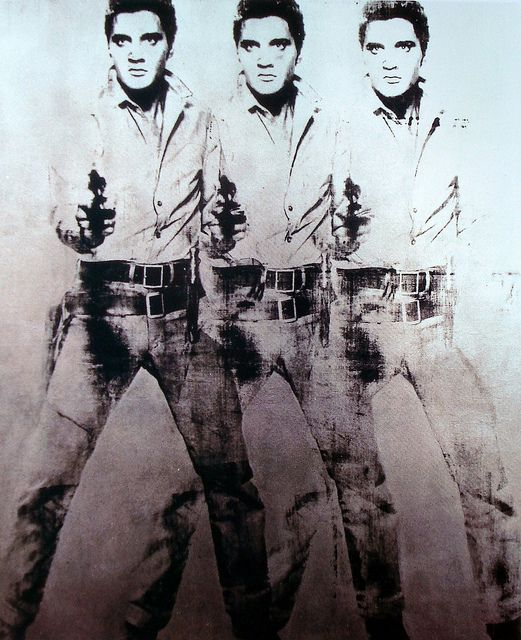 Cool and Cold Ludwig Elvis Presley Andy Warhol