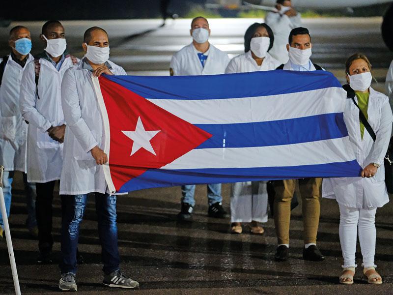 Καταφέραμε δια της ...πλαγίας να στείλουμε τη χρηματική βοήθεια στην Κούβα