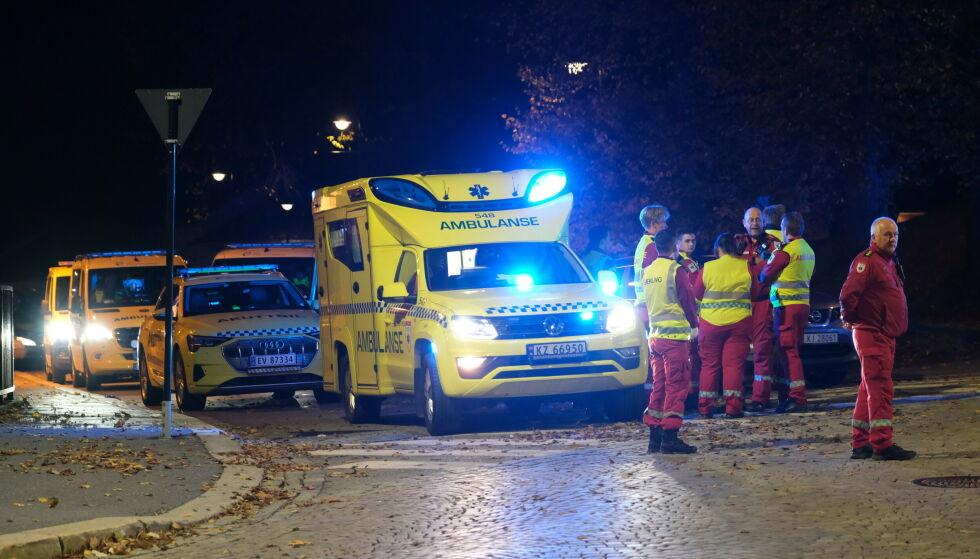 Mange mennesker ble drept og mange flere ble skadet i angrepene i byen Kongseberg