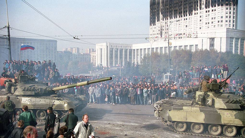 Moscow coup 1993 1