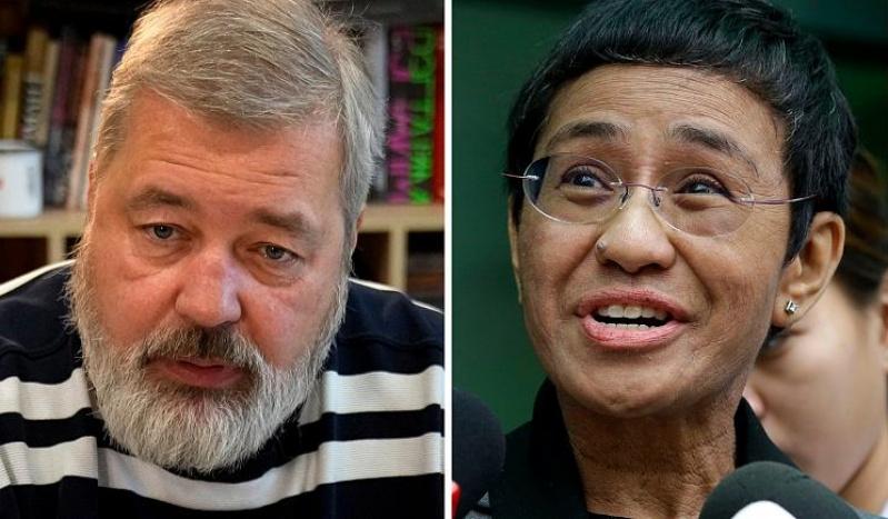 nobel peace prize journalists