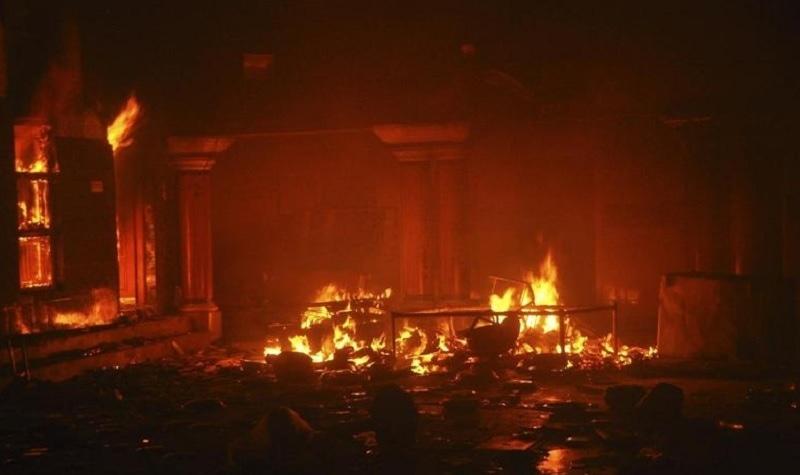 pakistan fire