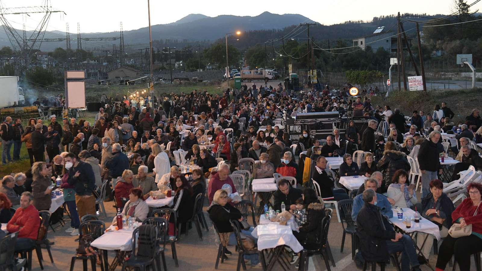 strofilia μεγάλη συναυλία αλληλεγγύης διεκδίκησης Στροφιλιάς 1α